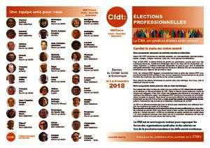 thumbnail of LIVRET CFDT élection CSE IDF Nord-Est-DC 2018 complet