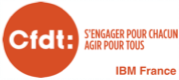 CFDT IBM France Logo