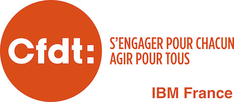 CFDT IBM France Retina Logo