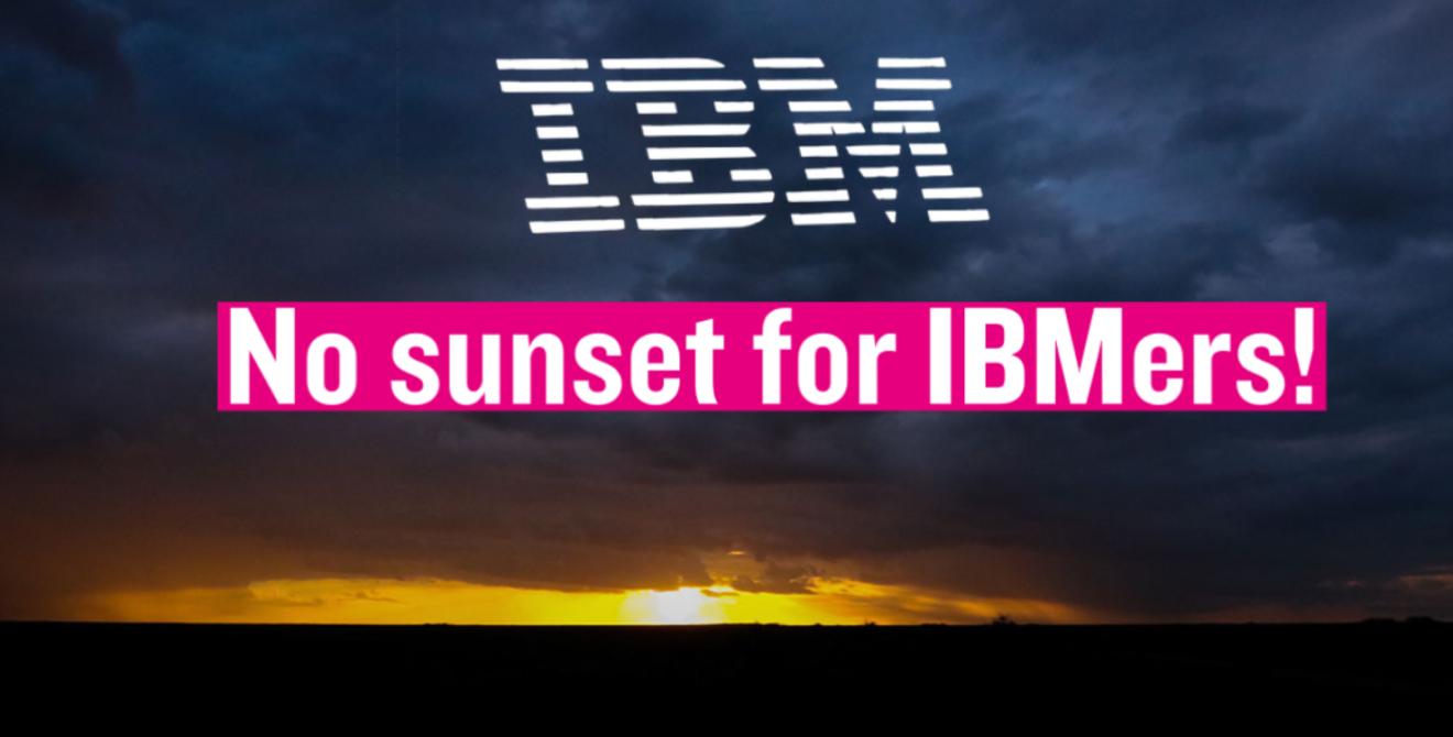 #NoSunsetForIBMers : la CFDT IBM France est co-signataire !